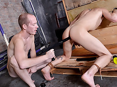 Sodomized In The Stocks! - Michael Wyatt & Sean Taylor