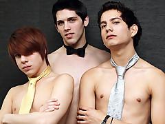 Aiden Summers, Giovanni Lovell & Kyler Moss - Prom Night-Virgins No More!